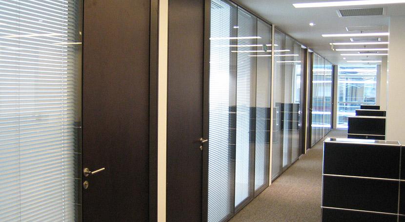 办公室隔断2.5CM铝百叶帘